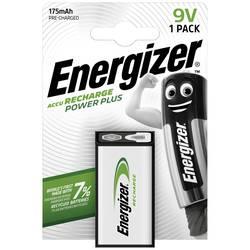 9 V blok akumulatorska baterija NiMH Energizer Power Plus 6LR61 175 mAh 8.4 V 1 kom.
