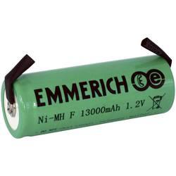 Emmerich F NiMH-akumulator, ZLF 1.2 V 13000 mAh ( x V) 32.5 mm x 91 mm