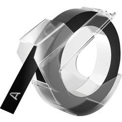 Tiskalni trak Dymo S0898130, 9mm, barva traku/pisave: črna/bela