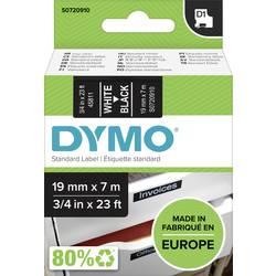 pisalni trak DYMO d1 45811 Barva traku: črna Barva pisave:bela 19 mm 7 m