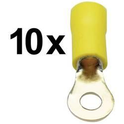 Okrogli kabelski čevelj Sinuslive RKS-4,0, 4 mm, izoliran, moder, 10 kosov