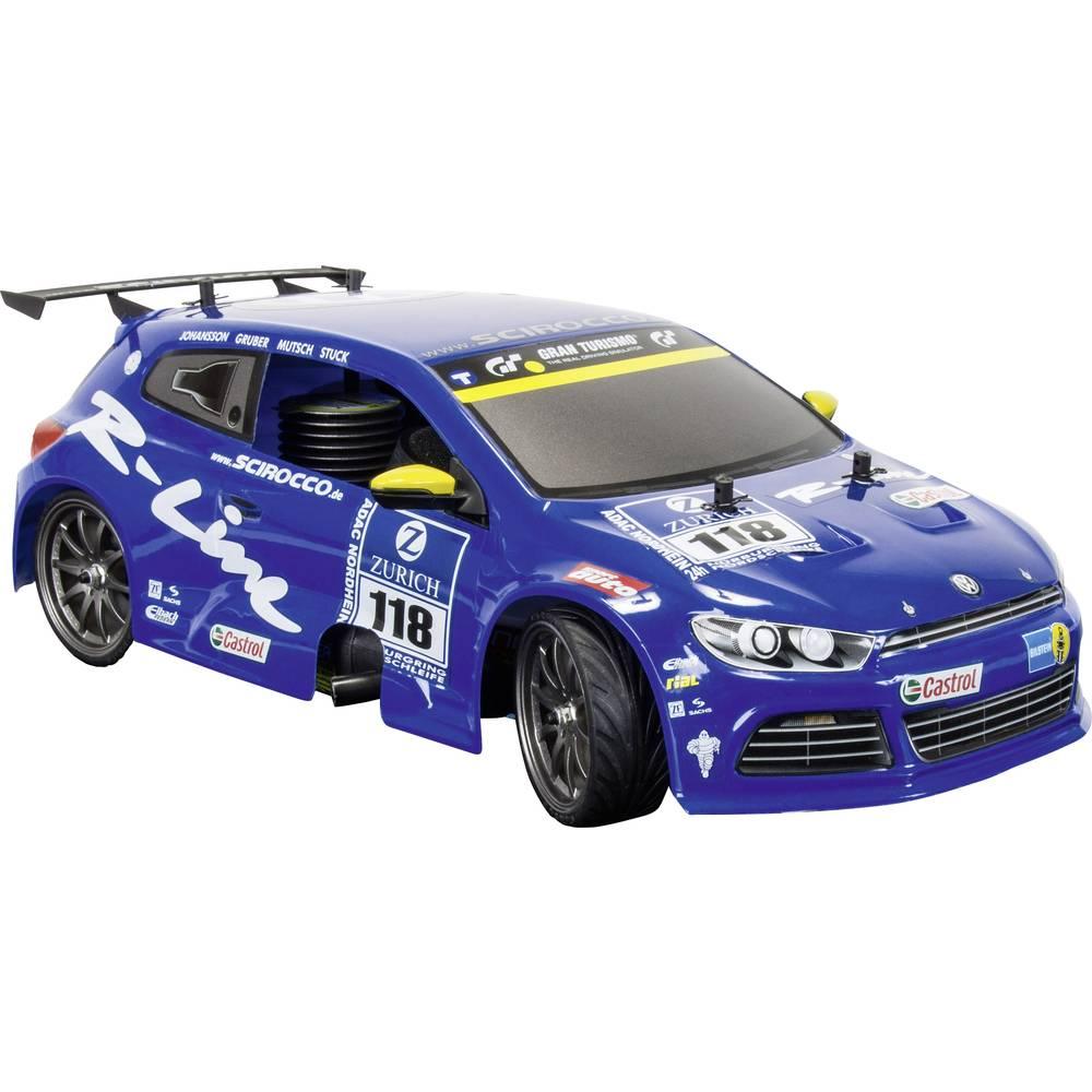 Nitro model avtomobila 1:10 Carson VW Scirocco, 4WD, CV-10,RtR, 2,4 GHz 500103038