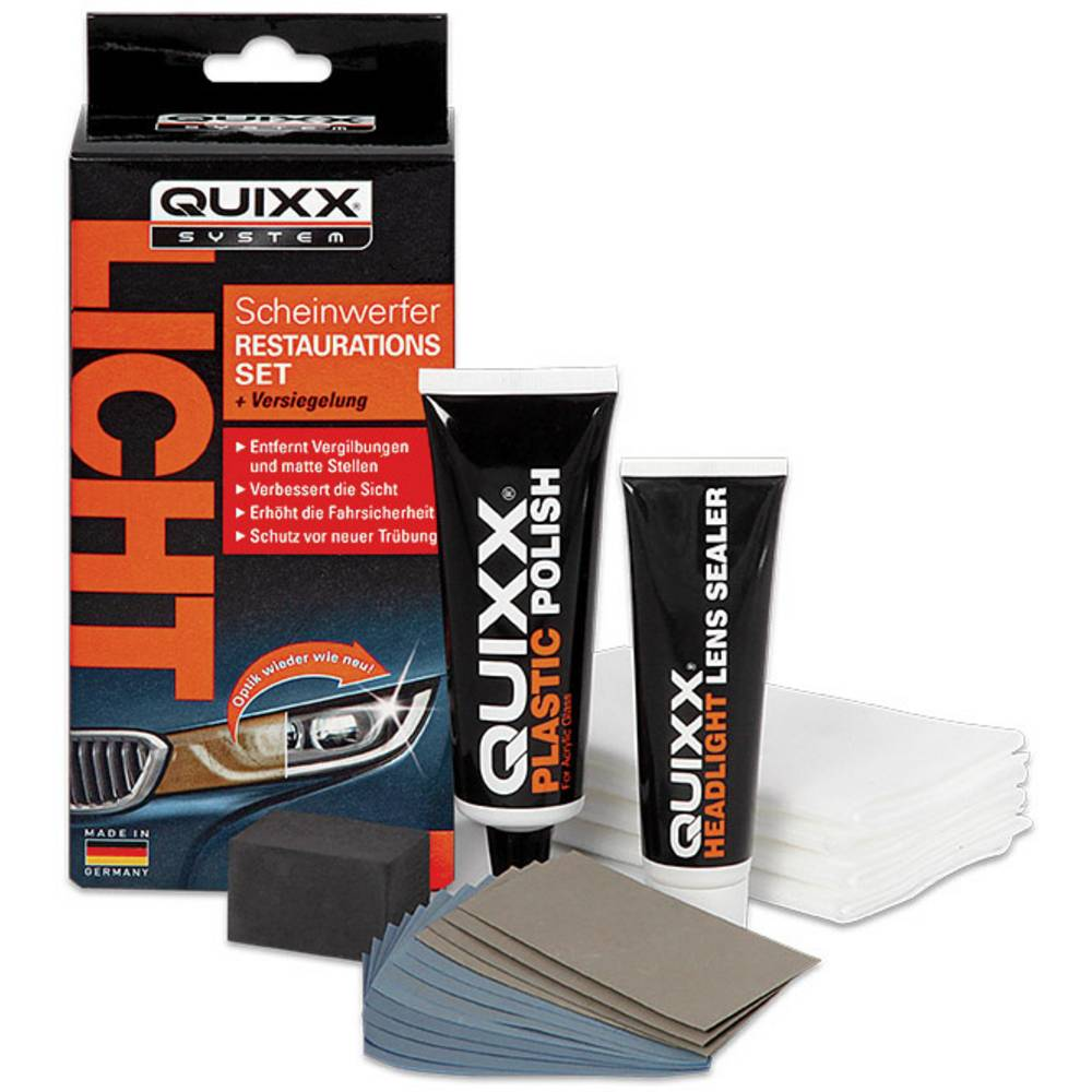 Komplet za obnovo žarometov Quixx Repair 00084, 1 komplet