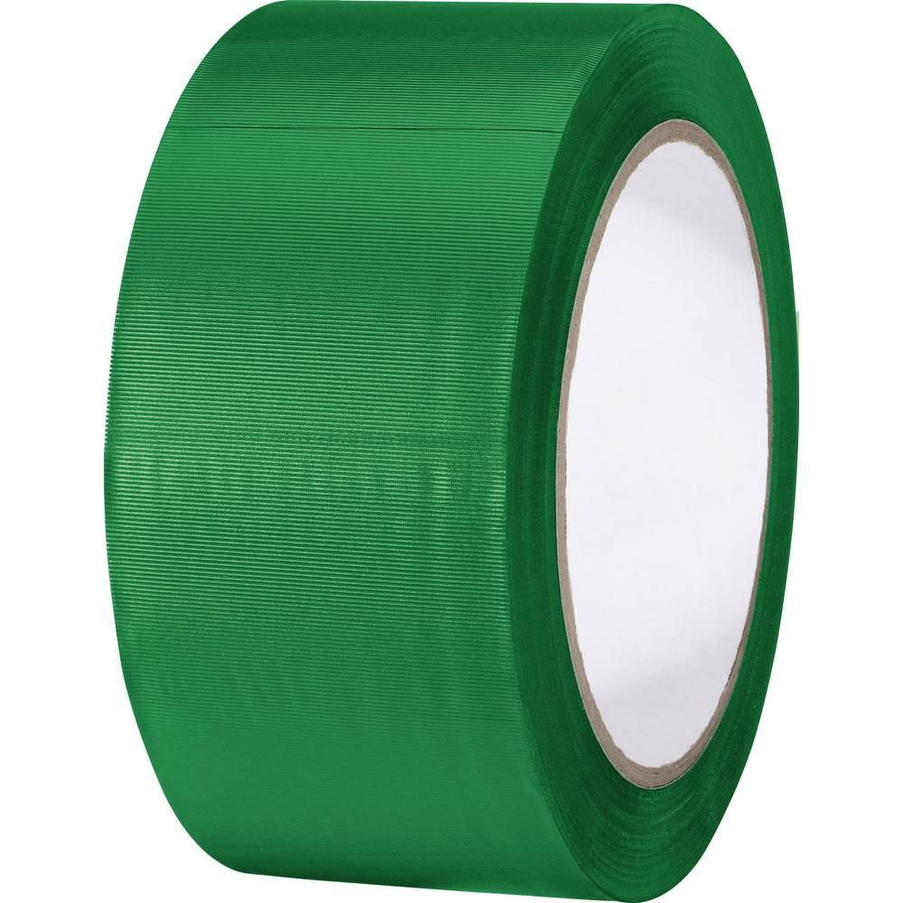 Univerzalni lepilni trak iz PVC-ja Toolcraft 832450Ü-C, (D x Š ) 33 m x 50 mm, zelene barve 832450Ü-C