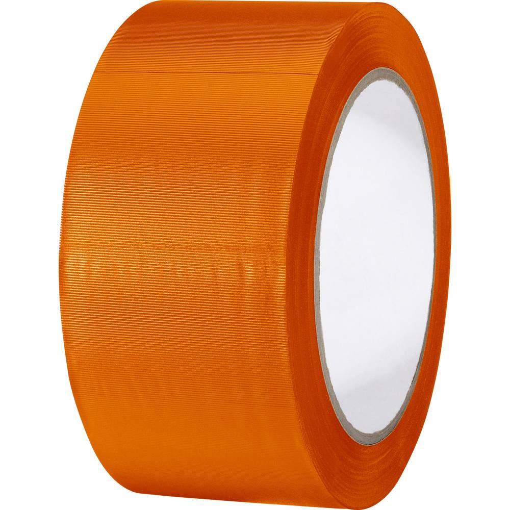 Višenamjenska PVC ljepljiva traka (D x Š) 33 m x 50 mm narančasta PVC 83240O-C TOOLCRAFT sadržaj: 1 rola