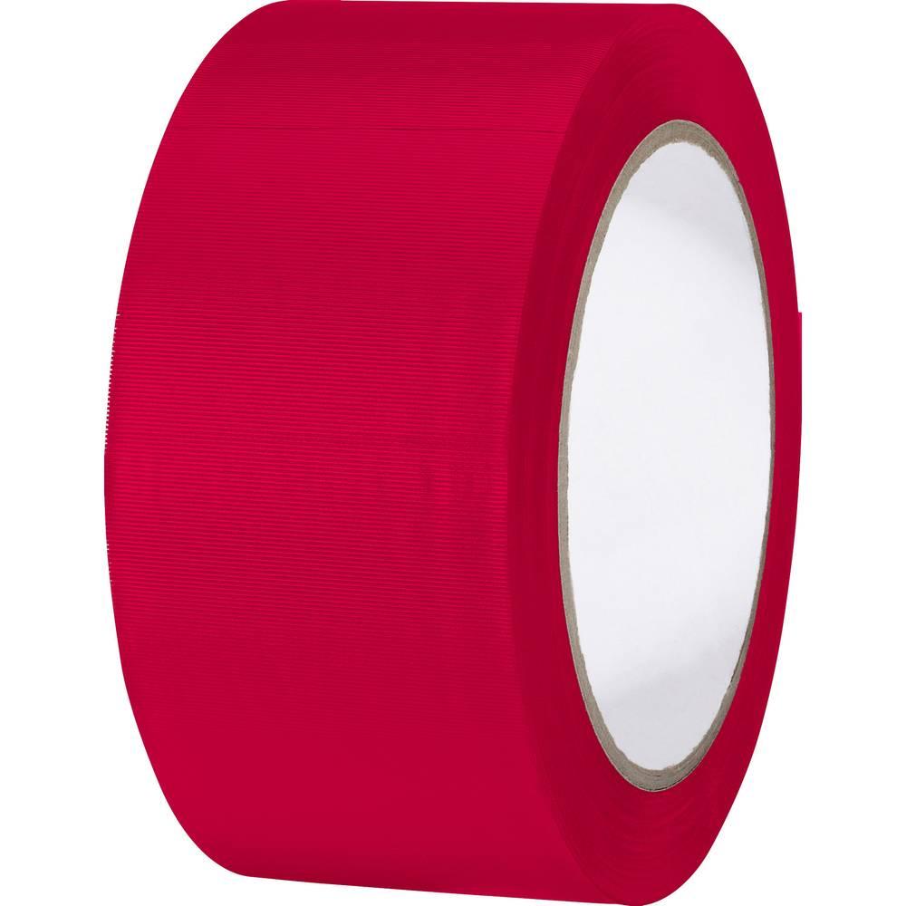 Univerzalni lepilni trak iz PVC-ja Toolcraft 832450R-C, (D x Š) 33 m x 50 mm, rdeče barve