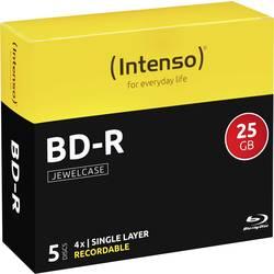 Blu-ray BD-R prazni Intenso 5001215 25 GB 5 kom. kutija