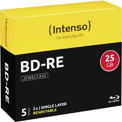 Blu-ray BD-RE prazni Intenso 5201215 25 GB 5 kom. kutija RW