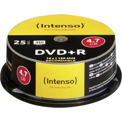 INTENSO DVD+R 4,7GB, 16 x 25 komada 4111154