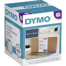 Tiskalni trak Dymo S0904980, 220 velikih nalepk (104 x 59 mm), bele barve, za LabelWriter