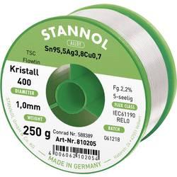 Neosvinčena žica za spajkanje Stannol Flowtin TS Sn95Ag4Cu1 250 g 1.0 mm