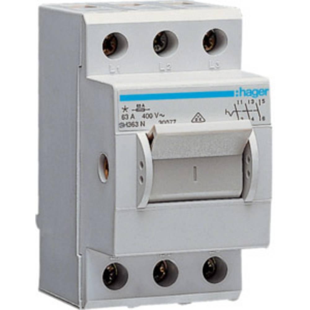 Glavni prekidač SH363N Hager 3-polni 63 A 230 V/AC, 400 V/AC siva