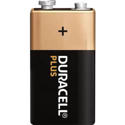9 V Block baterija, alkalno-manganova Duracell Plus 6LR61 9 V 1 kos