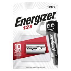 Baterija za fotoaparat CR-123A litijeva Energizer CR123 1500 mAh 3 V 1 kos