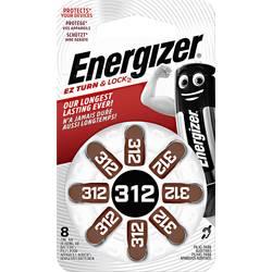 Gumbasta baterija ZA 312 cink-zrak Energizer PR41 baterija za slušni uređaj 160 mAh 1.4 V 8 kom.