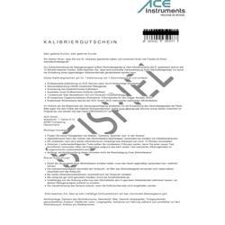 Bon za kalibracijo ACE 100082 za ACE alkotesterje