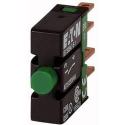Kontaktni element 1 zatvarač vraća se u izsprijedai položaj 250 V/AC Eaton E10 1 ST