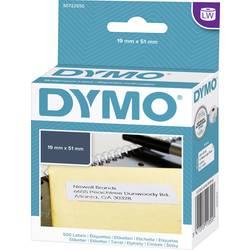 Tiskalni trak Dymo 11355, S0722550, 500 nalepk (19 x 51 mm),bele barve, za LabelWriter