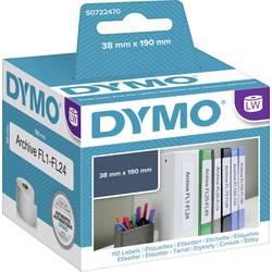 Tiskalni trak Dymo 99018, S0722470, 110 nalepk (190 x 38 mm), bele barve, za LabelWriter