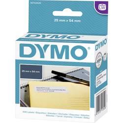 Tiskalni trak Dymo 11352, S0722520, 500 nalepk (54 x 25 mm),bele barve, za LabelWriter