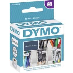 Tiskalni trak Dymo 11353, S0722530, 1.000 nalepk (25 x 13 mm), bele barve, za LabelWriter