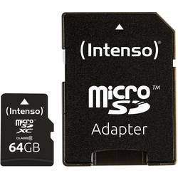 microSDXC kartica Intenso High Performance Class 10 uklj. SD-adapter 64 GB