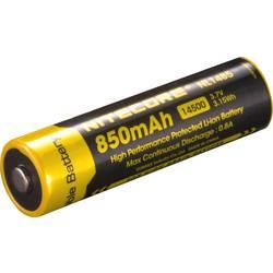 NiteCore 14500 LiIon-Akku 750 mAh žepna svetilka-dodatna oprema NL147 za Universal NIT14500