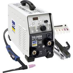 Varilni inverter za TIG-postopek GYS TIG 200 DC HF FV, 5-200A 011540