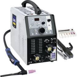 Varilni inverter za TIG-postopek GYS TIG 207 AC/DC HF FV, (AC/DC) 10-200/5-160 A 011618