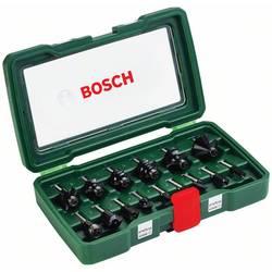 15 kosov. Nastavek za rezkanje iz karbidne trdine 1/4  Bosch Accessories 2607019468 Premer noge (motorja) 1/4 (6,3 mm)