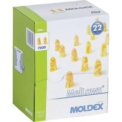 Ušni čepići za zaštitu sluha Moldex MelLows, 760001, za jednokratnu upotrebu, 22 dB, 200 parova