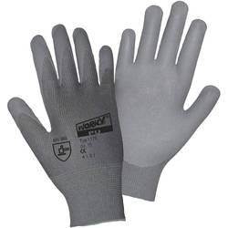 Fine štrikane rukavice Worky 1175, poliamid s PU-prevlakom bez DMF, vel. 10