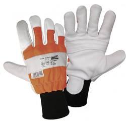 Šumarske rukavice sa zaštitom od ureza Worky 1604 veličina 9, bijela, narančasta, crna