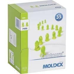 Ušni čepići za zaštitu sluha Moldex Contours, 740001, za jednokratnu upotrebu, 35 dB, 200 parova