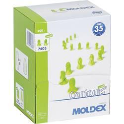 Ušni čepići za zaštitu sluha Moldex Contours, 740301, za jednokratnu upotrebu, 35 dB, 200 parova