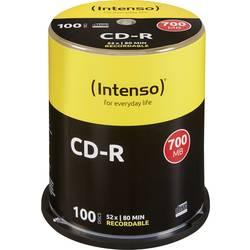 CD-R 80 prazni Intenso 1001126 700 MB 100 kom. okrugla kutija