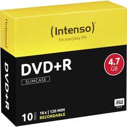 DVD+R prazni Intenso 4111652 4.7 GB 10 kom. tanka kutija