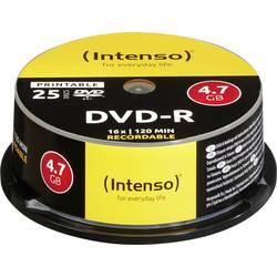 DVD-R prazni Intenso 4801154 4.7 GB 25 kom. okrugla kutija ispisiv