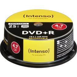 DVD+R prazni Intenso 4811154 4.7 GB 25 kom. okrugla kutija ispisiv
