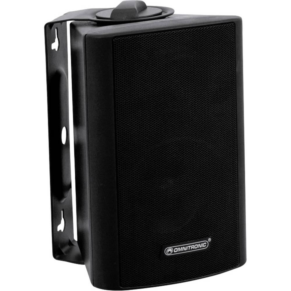 PA-zidni zvočnik Omnitronic WP-3S 15 W Črna 1 KOS