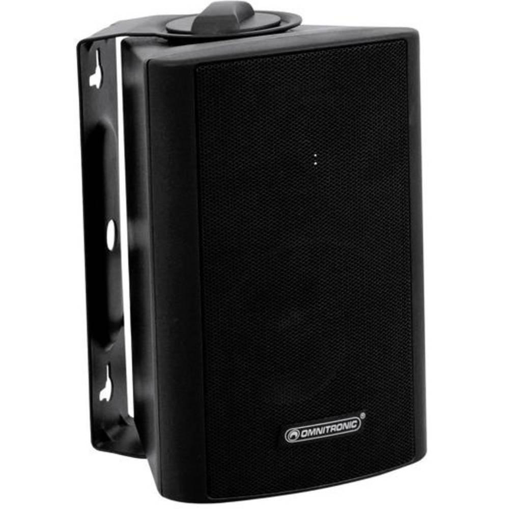 PA-zidni zvočnik Omnitronic WPS-3S 15 W Črna 1 KOS