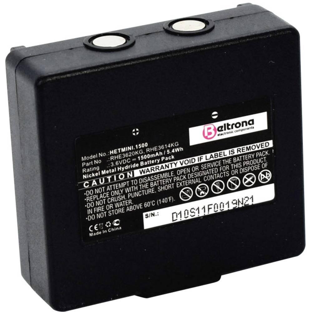 Dizalica daljinski upravljač-akumulator Beltrona Zamjenjuje originalnu akumul. bateriju 68300600, 68300900 3.6 V 1500 mAh