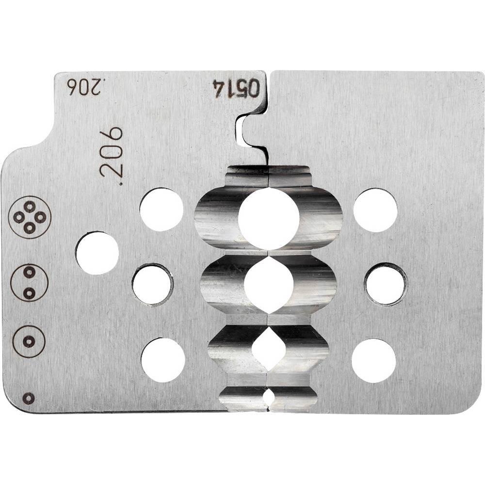 Nož za kliješta za skidanje izolacije, pogodan za POF kabele 2.2 do 6.7 mm Rennsteig Werkzeuge 708 206 3 0 pogodan za robnu mark