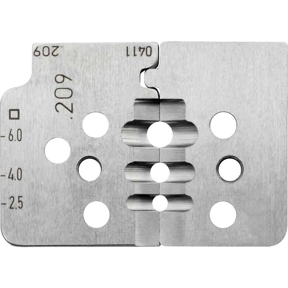 Nož za kliješta za skidanje izolacije, pogodan za solarne kabele 2.5 do 6 mm Rennsteig Werkzeuge 708 209 3 0 pogodan za robnu ma