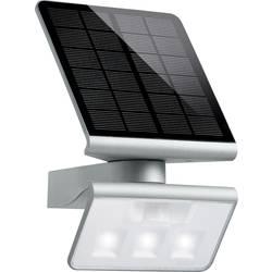 Solarni stenski LED-reflektor z detektorjem gibanja Steinel Xsolar, 1,2 W, hladna bela svetloba, srebrna