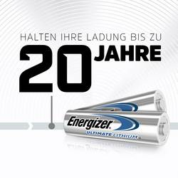 Mignon baterija (AA) litijeva Energizer Ultimate Industrial LR06 1.5 V 10 kosov