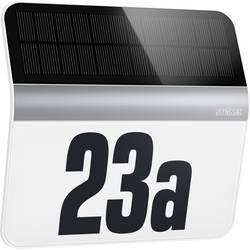 Solarna luč za osvetljevanje hišne številke LED hladno-bela Steinel LH-N jeklo
