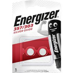 Gumbna baterija EPX76 srebrovo-oksidna Energizer SR44 200 mAh 1.55 V, 2 kosa