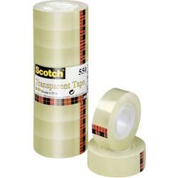 Scotch® ljepljiva traka 3M prozirna 550 (D x Š) 33 m x 19 mm prozirna 5501933 sadržaj: 8 koluta