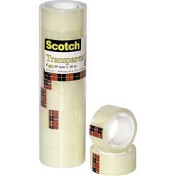 Scotch® ljepljiva traka 3M prozirna 550 (D x Š) 10 m x 19 mm prozirna 5501910 sadržaj: 8 koluta